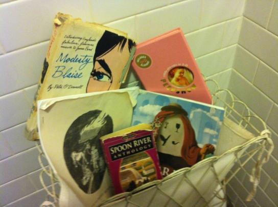 FLAPPERHOUSE Bathroom Library