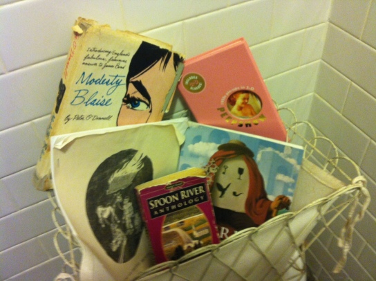 FLAPPERHOUSE Bathroom Library