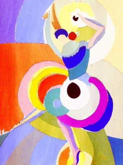 Flamenco Dancer - Sonia Delaunay, 1916