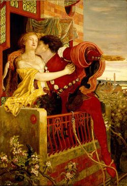 Romeo and Juliet - Ford Madox Brown, 1870