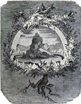 The Ash Yggdrasil - Friedrich Wilhelm Heine