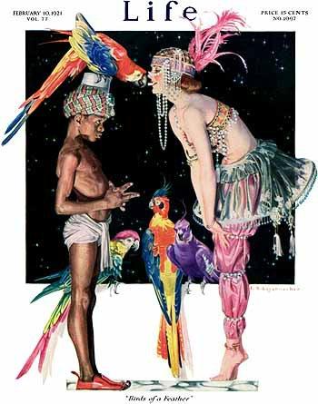 Birds of a Feather - FX Leyendecker, 1921