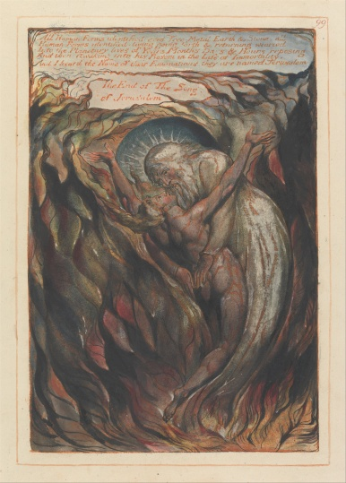 All Human Forms Identified - William Blake, 1804 - 1820