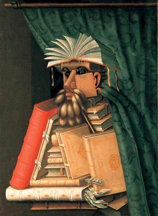 The Librarian - Giuseppe Arcimboldo, circa 1570