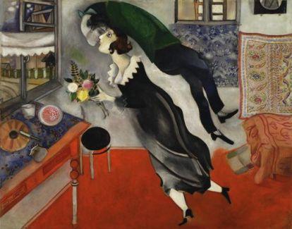 Birthday - Marc Chagall, 1915