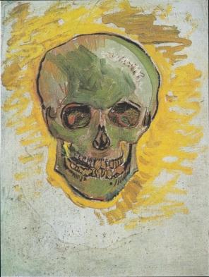 Schädel (Skull) - Vincent van Gogh, 1887/1888