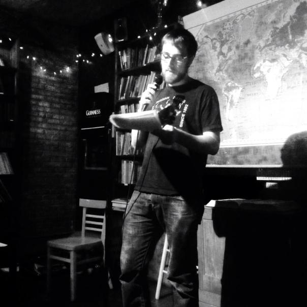 Brendan Byrne reads from