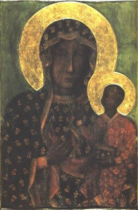 Black Madonna of Częstochowa, Poland.