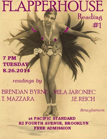 FLAPPERHOUSE Reading Flyer