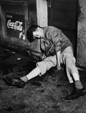 Drink Coca-Cola - Weegee (Arthur Fellig), c. 1950