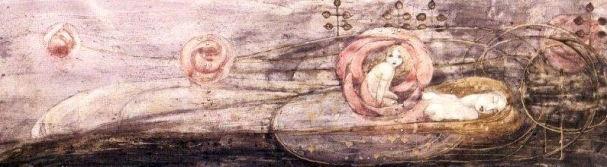 Sleeping Princess - Frances MacDonald, 1909