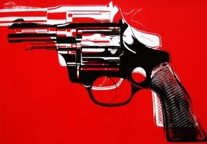 Gun - Andy Warhol, 1981