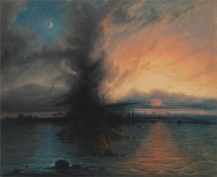 The Rock of Salvation - Samuel Colman, 1837