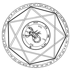 5th Pentacle of Mars (Devil's Trap from The Key of Solomon)