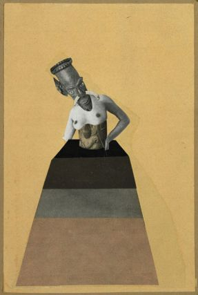 Untitled (From An Ethnographic Museum) - Hannah Höch, 1929
