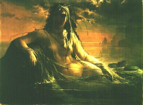 Mermaid - Elisabeth Jerichau-Baumann, 1862 or 1873