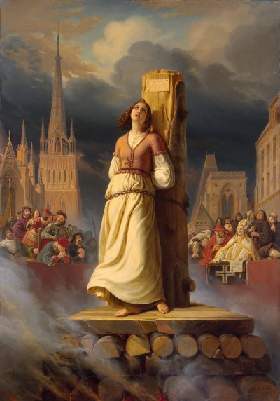 Joan of Arc's Death at the Stake - Hermann Stilke, 1843