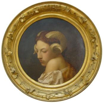 The Bacchante - Jean-Léon Gérôme, 1853