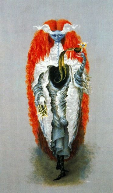 Witch going to the Sabbath - Remedios Varo, 1957