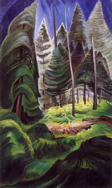 A Rushing Sea of Undergrowth - Emily Carr, 1935