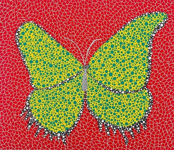 Butterfly - Yayoi Kusama, 1988