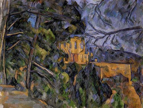 Chateau Noir - Paul Cezanne, circa 1904