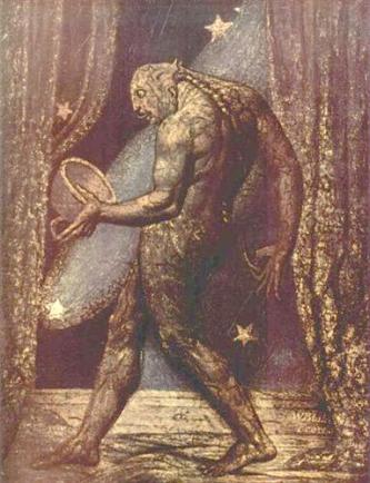 Ghost of a Flea - William Blake, 1820