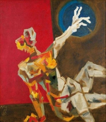 Untitled - M.F. Husain, 1970