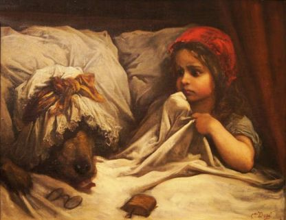Little Red Riding Hood - Gustave Doré, circa 1867