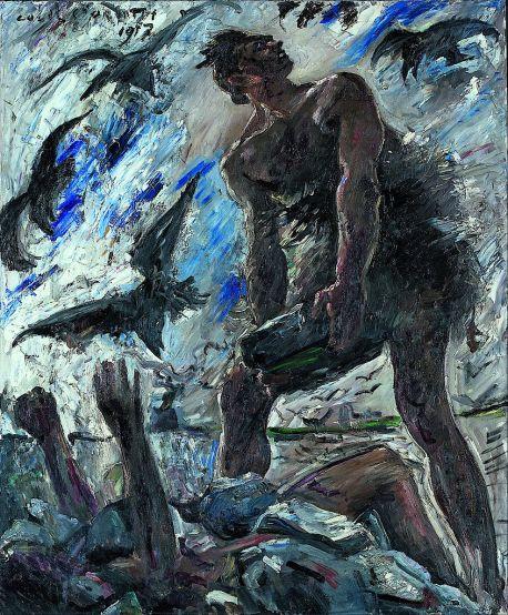 Cain - Lovis Corinth, 1917