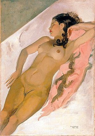 Sleeping Woman - Amrita Sher-Gil, 1933