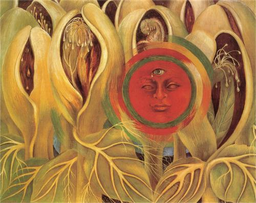 Sun and Life - Frida Kahlo, 1947