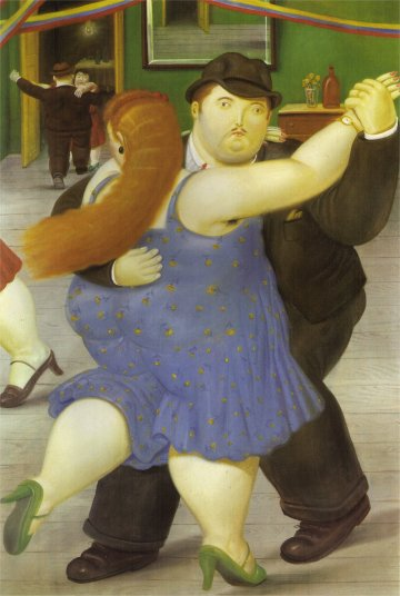 The Dancers - Fernando Botero