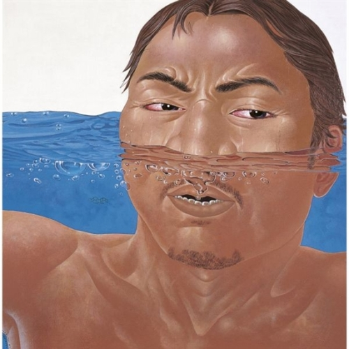 Bernafas (Breathe) - Nyoman Masriadi, 2004
