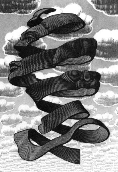 Rind - M.C. Escher, 1955