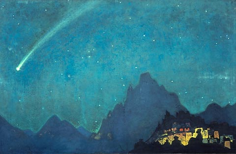 Star of the Hero - Nicholas Roerich, 1932