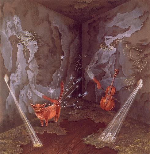 Cosmic Energy - Remedios Varo, circa 1956