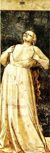 Wrath - Giotto, 1306