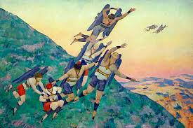 People of the Future - Konstantin Yuon, 1929