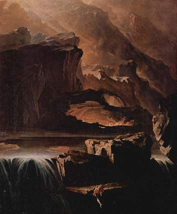 Sadak in Search of the Waters of Oblivion - John Martin, 1811