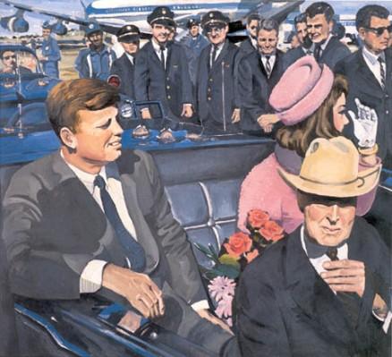 Kennedy Motorcade - Audrey Flack, 1964