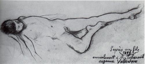 My Son - Suzanne Valadon, 1896