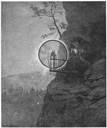 Witch - Theodor Severin Kittelsen, 1892