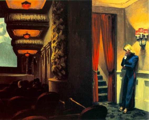 New York Movie - Edward Hopper, 1939