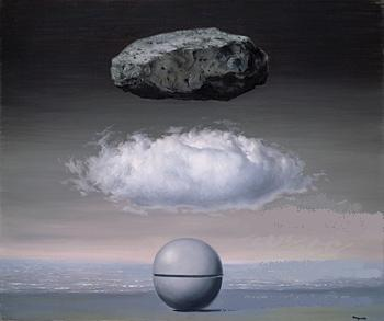 The Familiar World - Rene Magritte, 1958