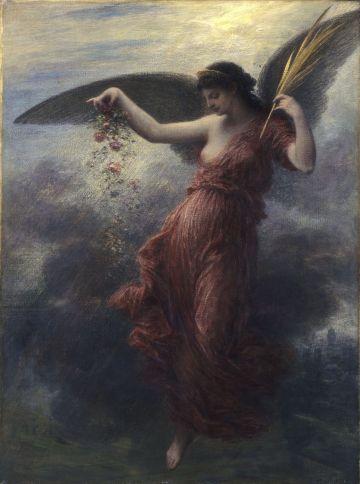 Immortality - Henri Fantin-Latour, 1886
