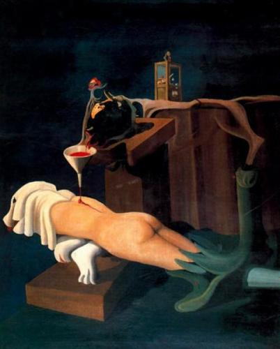 Máquina De Coser Electro-Sexual - Oscar Dominguez, 1934