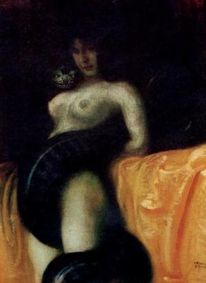 Sensuality - Franz Stuck, 1891