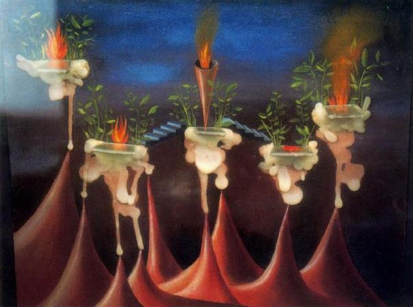The Desire - Remedios Varo, 1935