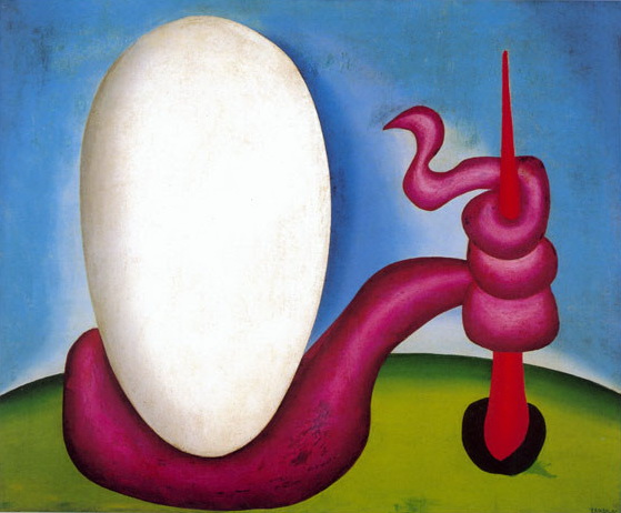 The Egg - Tarsila do Amaral, 1928